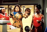 In a '90s Brooklyn brownstone, Khadijah (Queen Latifah), Synclaire (Kim Coles), Regine (Kim Fields), and Max (Erika Alexander) experience fun hijinks, success, and love. What made <em>Living Single</em> so iconic was the differing personalities and humor of the four best friends: Their quick-witted banter matched perfectly with the periodic feel of the show. The success of <em>Living Single</em> paved the way for later iterations of contemporary Black female friendships like <em>Insecure</em>.
