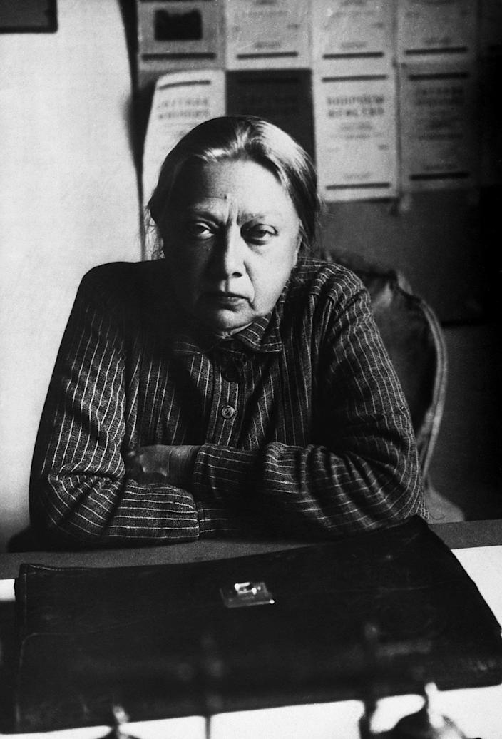 <p>One of the most significant exponents of Marxism, Nadezhda Krupskaya ran an international newspaper and became a key figure in the Bolshevik Party, helping to kick-start the October Revolution. (Photo: Hulton-Deutsch Collection/Corbis via Getty Images) </p>
