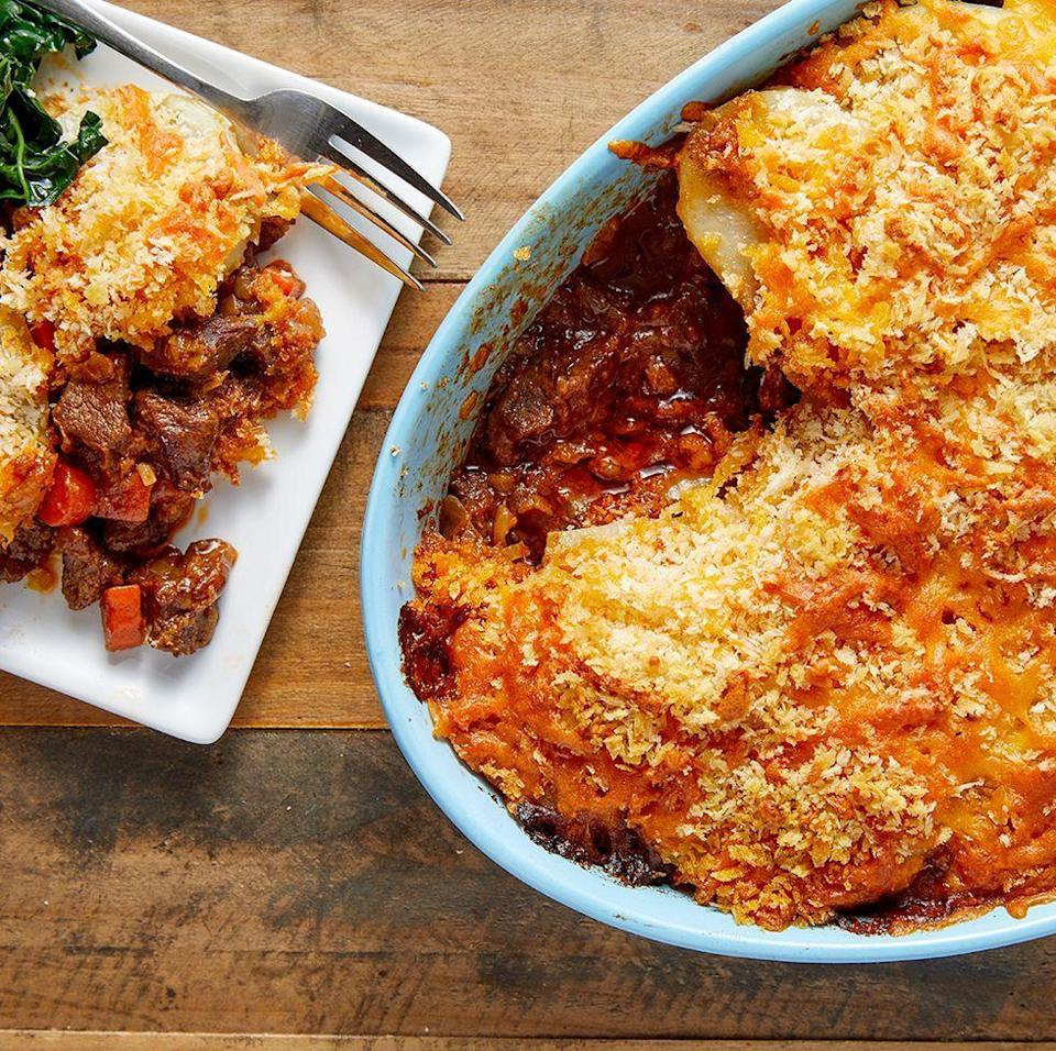 "<p>We love Cumberland pie, it's carby, meaty, cheesy and crispy all in one big dish. But there are some misconceptions with a Cumberland pie. Some people think it's basically the same as <a href=""https://www.delish.com/uk/cooking/recipes/a29139632/cottage-pie/"" rel=""nofollow noopener"" target=""_blank"" data-ylk=""slk:cottage pie"" class=""link rapid-noclick-resp"">cottage pie</a> (<a href=""https://www.delish.com/uk/beef-recipes/"" rel=""nofollow noopener"" target=""_blank"" data-ylk=""slk:beef"" class=""link rapid-noclick-resp"">beef</a> mince and mashed potato), but it's so much more than that...</p><p>Get the <a href=""https://www.delish.com/uk/cooking/recipes/a30119158/cumberland-pie/"" rel=""nofollow noopener"" target=""_blank"" data-ylk=""slk:Cumberland Pie"" class=""link rapid-noclick-resp"">Cumberland Pie</a> recipe. </p>"