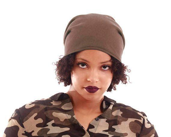 Not only will this <span>beanie</span> lock in moisture and prevent frizz, but it's perfect for those with shorter hair.