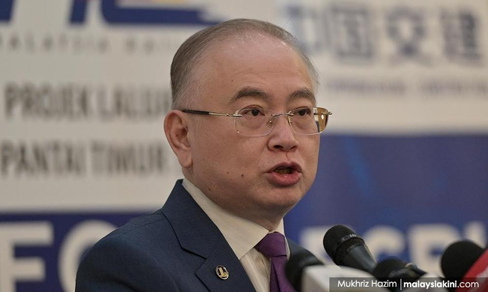 Transport Minister Wee Ka Siong