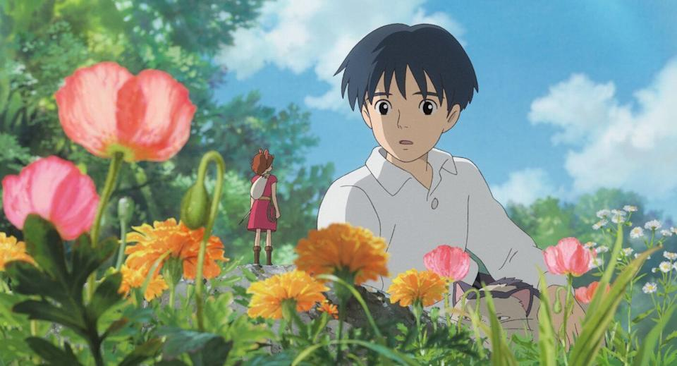The character of Sho was changed to Shawn in the US dubbed version. (Studio Ghibli)