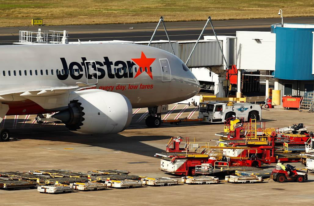 Aircraft Activity At Sydney Airport As Australian Dollar's Continued Strength Harms Economy