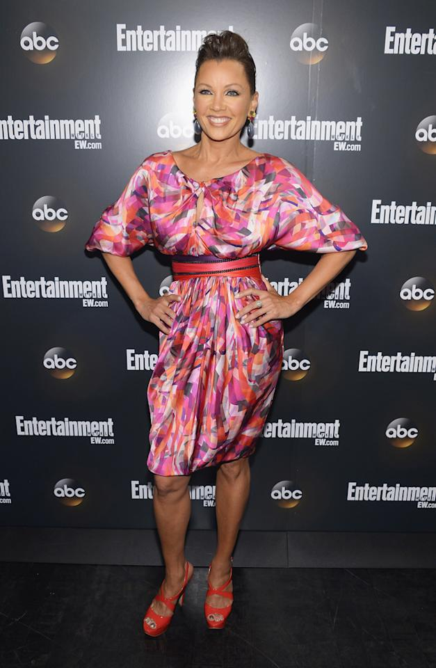 """Vanessa Williams (""""666 Avenue"""") attends the Entertainment Weekly and ABC Upfront VIP Party at Dream Downtown on May 15, 2012 in New York City."""