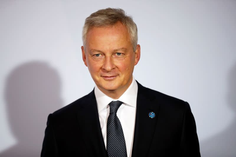 France's Le Maire says economy is on the right track