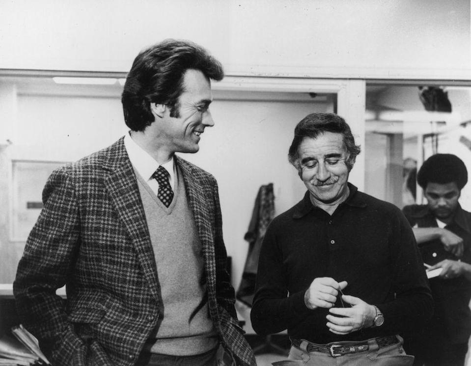 <p>The actor credits his <em>Dirty Harry</em> director, Don Siegel, with teaching him how to direct. Throughout the '70s, Eastwood began directing films that he starred in, starting with his directorial debut in 1971, <em>Play Misty for Me</em>, which was followed by <em>High Plains Drifter </em>(1972), <em>The Outlaw Josey Wales</em> (1976), and <em>The Gauntlet </em>(1977).</p>