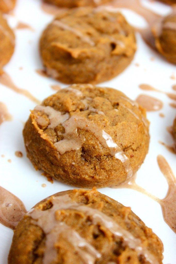 "<p>A cross between a cake and a cookie, this fall-appropriate dessert is loaded with sugar, spice (ginger, nutmeg, and cloves), and all things pumpkin.</p><p><em><a href=""http://www.somuchyumblog.com/vegan-pumpkin-cake-cookies/"" rel=""nofollow noopener"" target=""_blank"" data-ylk=""slk:Get the recipe at So Much Yum »"" class=""link rapid-noclick-resp"">Get the recipe at So Much Yum »</a></em></p><p><strong>RELATED: </strong><a href=""https://www.goodhousekeeping.com/food-recipes/dessert/g28089407/easy-fall-desserts/"" rel=""nofollow noopener"" target=""_blank"" data-ylk=""slk:60 Easy Fall Desserts That'll Wow Your Dinner Guests"" class=""link rapid-noclick-resp"">60 Easy Fall Desserts That'll Wow Your Dinner Guests</a></p>"