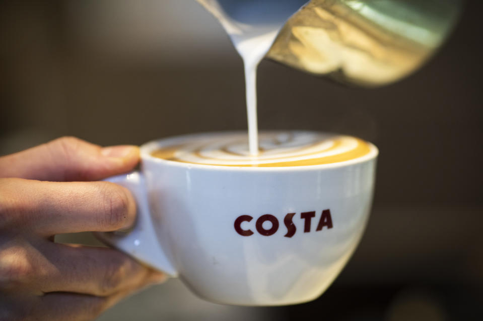 We'll drink coffee to that! (Getty Images)