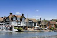 """<p>Picturesque Horning is one of the most attractive villages in the Norfolk Broads. It boasts a waterside location and is lined with riverside houses. While here, you can stroll historic Lower Street to check out the pubs, restaurants and tea rooms, and during the weekend you might spot the Horning Sailing Club racing.</p><p><a class=""""link rapid-noclick-resp"""" href=""""https://www.countrylivingholidays.com/tours/norfolk-broads-rail-tour"""" rel=""""nofollow noopener"""" target=""""_blank"""" data-ylk=""""slk:VISIT HORNING DURING A TRIP TO THE BROADS"""">VISIT HORNING DURING A TRIP TO THE BROADS</a></p>"""