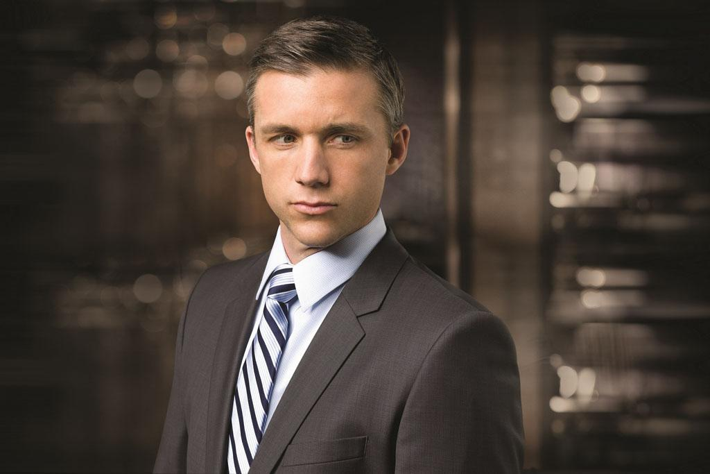 "Jeff Hephner as Ben Zajac in season 2 of ""Boss."""