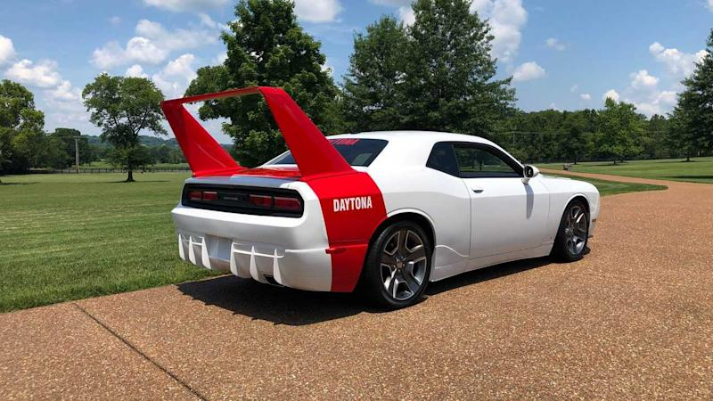 Relive NASCAR's Glory Days In This 2013 Dodge Challenger Daytona