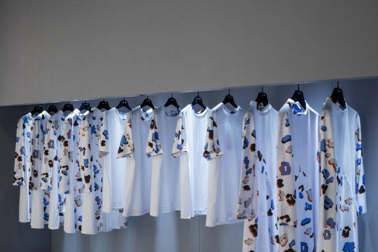 <i>Giles' Eek! collection in collaboration with Ariel focuses on sustainability [Photo: Ketchum]</i>