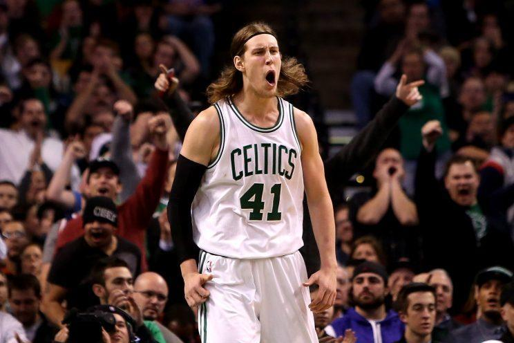 Kelly Olynyk is headed to the Miami Heat on a four-year, $50-plus million contract. (Getty)