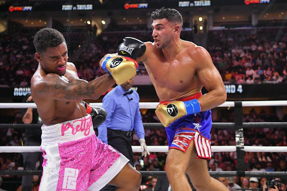 Tommy Fury fights Anthony Taylor (Getty)