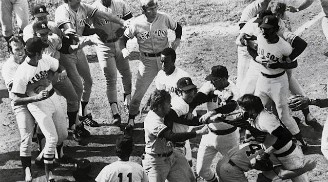 The Yankees and Red Sox squared off in Boston in 1973, but that year the rivalry drew punches and it became one of the most memorable brawls in baseball history. It also set the stage up for another unforgetable fight in 1976.