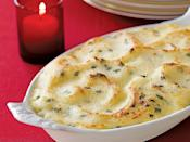 """<p>These garlic <a href=""""https://www.myrecipes.com/course/side-dish-recipes/best-mashed-potato-recipes"""" rel=""""nofollow noopener"""" target=""""_blank"""" data-ylk=""""slk:mashed potatoes"""" class=""""link rapid-noclick-resp"""">mashed potatoes</a> are full of flavor and a great side dish to any meal. Enjoy this creamy and filling dish at your next family meal.</p>"""