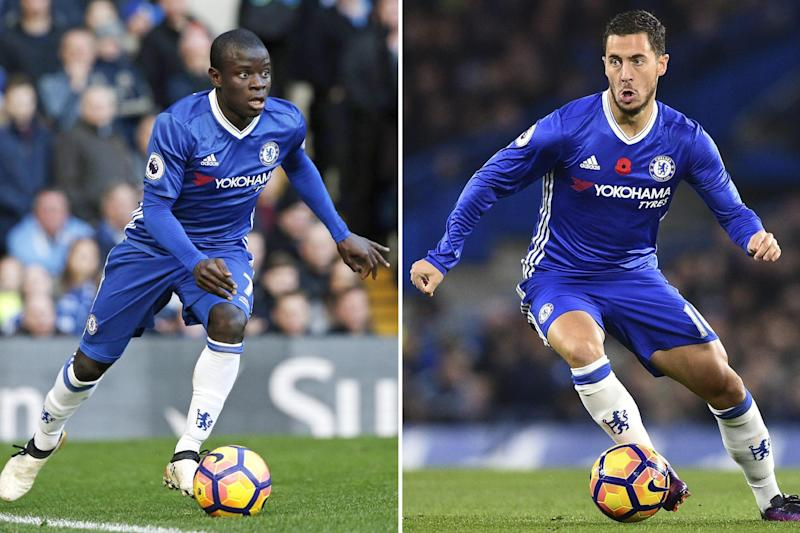 Award rivals | N'Golo Kante is the bookmakers' favourite to win the prize: GLYN KIRK/AFP/Getty Images