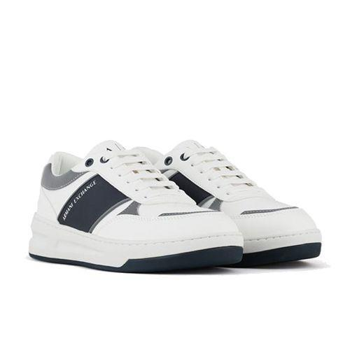 "<p><a class=""link rapid-noclick-resp"" href=""https://go.redirectingat.com?id=127X1599956&url=https%3A%2F%2Fwww.armaniexchange.com%2Fgb%2Fsneakers_cod11929584hs.html&sref=https%3A%2F%2Fwww.esquire.com%2Fuk%2Fstyle%2Fshoes%2Fg9894%2Fbest-mens-trainers%2F"" rel=""nofollow noopener"" target=""_blank"" data-ylk=""slk:SHOP"">SHOP</a></p><p>When you think Armani, your mind doesn't necessarily jump to trainers. But it should, really, because Armani Exchange – the Italian heavyweight's off-shoot – is very good at making them, as these techno fabric white sneakers can attest.<br></p><p>AX Sneakers, £126, <a href=""https://go.redirectingat.com?id=127X1599956&url=https%3A%2F%2Fwww.armaniexchange.com%2Fgb%2Fsneakers_cod11929584hs.html&sref=https%3A%2F%2Fwww.esquire.com%2Fuk%2Fstyle%2Fshoes%2Fg9894%2Fbest-mens-trainers%2F"" rel=""nofollow noopener"" target=""_blank"" data-ylk=""slk:armaniexchange.com"" class=""link rapid-noclick-resp"">armaniexchange.com</a></p>"