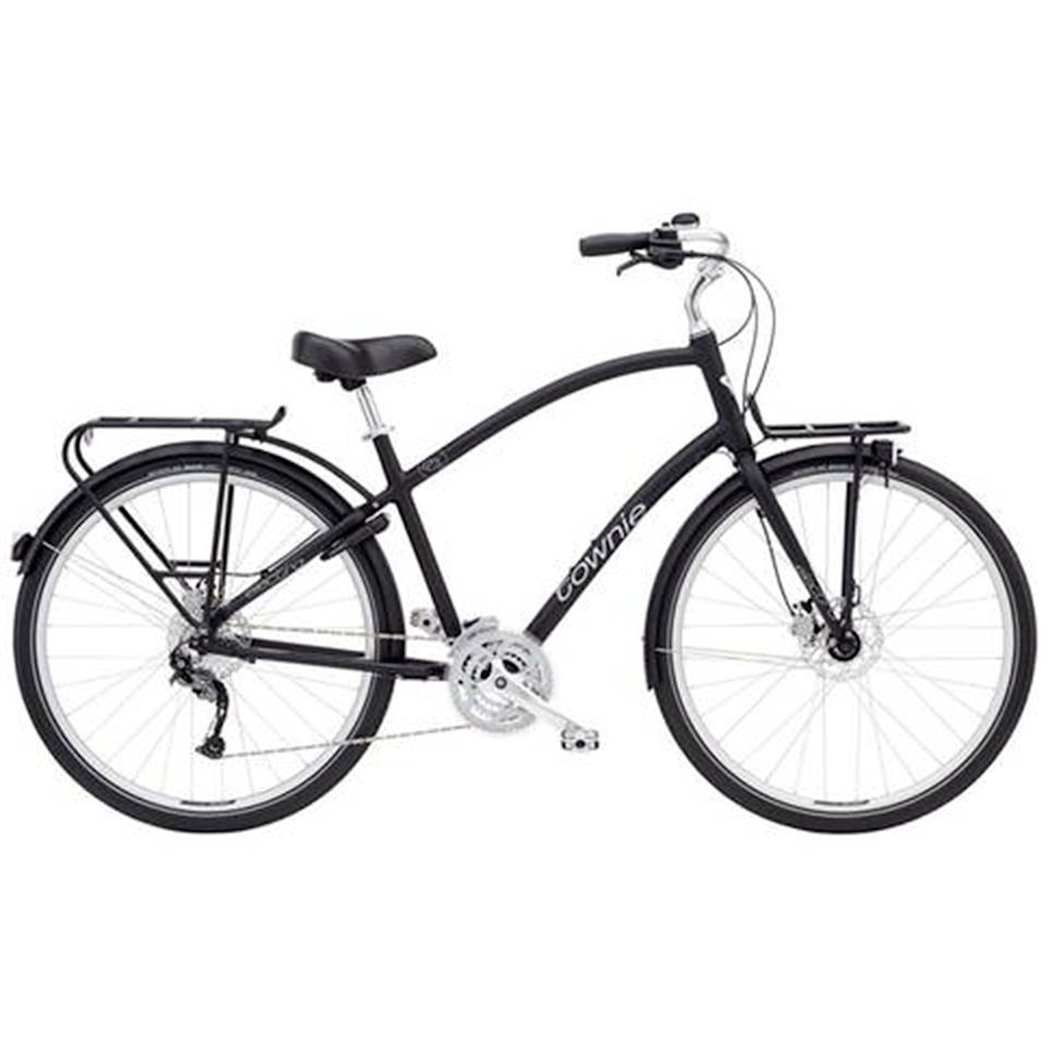"""<p><a class=""""body-btn-link"""" href=""""https://go.redirectingat.com?id=127X1599956&url=https%3A%2F%2Fwww.evanscycles.com%2Felectra-townie-27d-eq-2020-women-s-hybrid-bike-EV381560&sref=https%3A%2F%2Fwww.womenshealthmag.com%2Fuk%2Fgym-wear%2Fg32740535%2Fbest-bikes%2F"""" target=""""_blank"""">SHOP NOW</a></p><p><strong>Price: </strong>£720</p><p>Thanks to their more upright seat position, padded saddle and medium-width tyres, hybrid bikes are designed to be versatile and comfortable for casual riders. Think: <a href=""""//www.womenshealthmag.com/uk/fitness/fitness-holidays/a705152/the-best-healthy-snacks-to-see-you-through-your-train-commute/"""" target=""""_blank"""">commutes</a>, family bike rides, trips to the shops. </p><p>This 'Townie' bike ticks all of those boxes: it has an upright seated position that allows the rider to put their feet on the ground whenever they want, which means it's a comfortable bike that's easy to control. </p><p><strong>Number of gears: </strong>27 <strong></strong></p><p><strong>Frame</strong>: 6061-T6 Aluminium, Flat Foot Technology</p>"""
