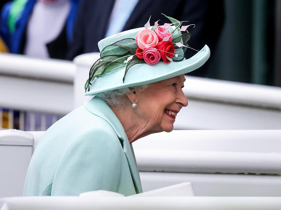 Queen Elizabeth II arrives at Royal Ascot 2021 at Ascot Racecourse (Getty Images)