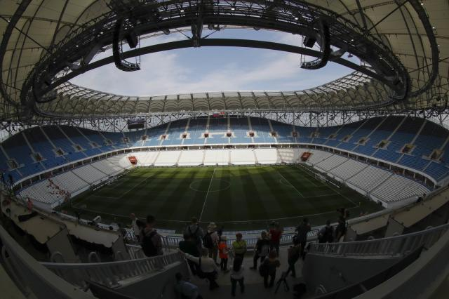 <p>Volgograd Arena, Volgograd<br>Year opened: 2018<br>Capacity: 45,568<br>Which games: England's opener again Tunisia, three other group fixtures<br>Fun fact: Will be the home of Rotor Volgograd, a second tier Russian side who knocked Manchester United out of the UEFA Cup in 1995. </p>