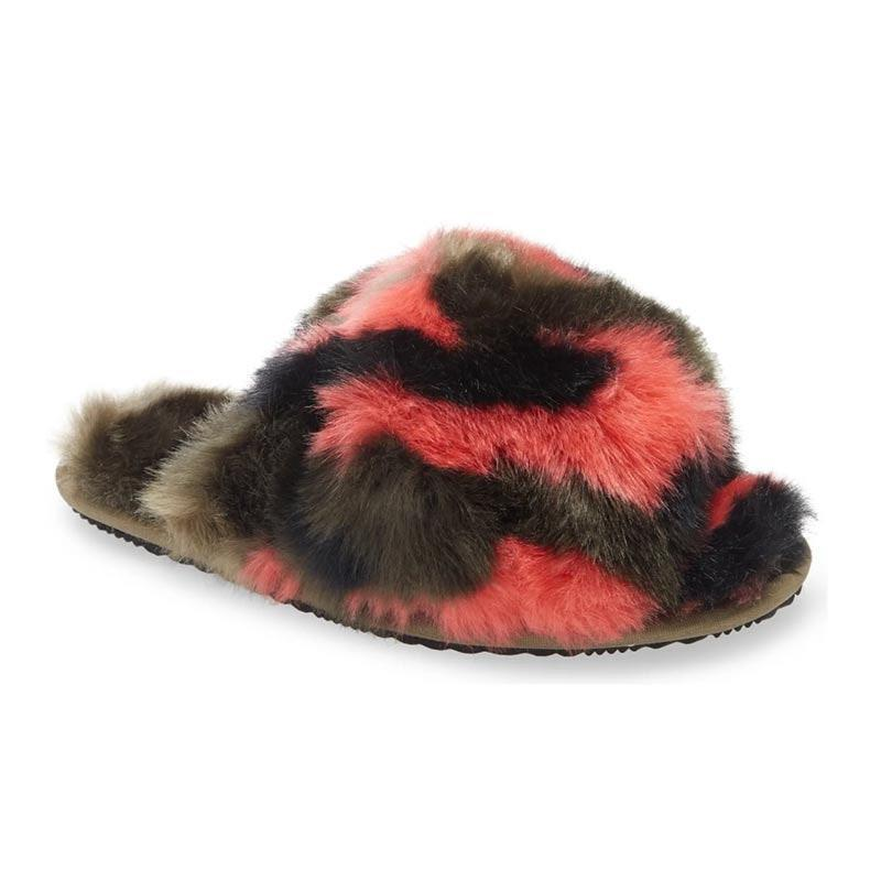 "This list would be incomplete without a pair of <a href=""https://www.glamour.com/gallery/best-slippers-for-women?mbid=synd_yahoo_rss"" rel=""nofollow noopener"" target=""_blank"" data-ylk=""slk:plush slippers"" class=""link rapid-noclick-resp"">plush slippers</a>, so we added the chunkiest, furriest pair we could find. $75, Nordstrom. <a href=""https://www.nordstrom.com/s/sorel-go-mail-run-faux-fur-slide-slipper-women/5715262"" rel=""nofollow noopener"" target=""_blank"" data-ylk=""slk:Get it now!"" class=""link rapid-noclick-resp"">Get it now!</a>"