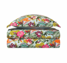"""<p>The Utopia bedding collection inspired by the style of Douanier Rousseau, luxuriant foliage reveals a wealth of tropical florals. Because luxury is gentle with Mother Nature, Yves Delorme produces exclusively with 100% organic cotton.</p><p>Danielle's A-List Anecdote:<em>""""The Utopia bedding collection has it all. There is just nothing better than a sheet set that can hold its own and make a real contribution to the design conversation. This collection has color, density, and visual interest. It could really be the jumping off point for a fantastic bedroom scheme.""""</em></p><p><em><u>Learn More at <a href=""""https://usa.yvesdelorme.com/"""" rel=""""nofollow noopener"""" target=""""_blank"""" data-ylk=""""slk:usa.yvesdelorme.com"""" class=""""link rapid-noclick-resp"""">usa.yvesdelorme.com</a>!</u> </em> </p>"""