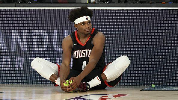 Rockets' House leaving bubble after having unauthorized guest in hotel room