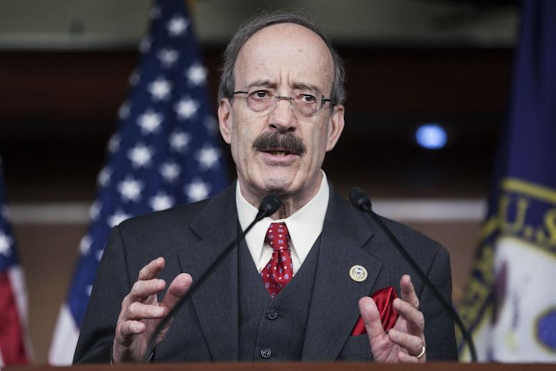 Representative Eliot Engel, ranking member of the House's Foreign Affairs committee: Getty