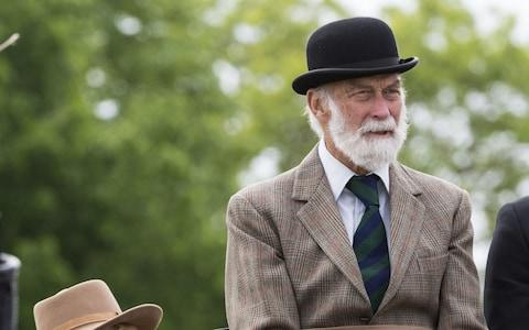 Prince Michael of Kent at the Royal Windsor Horse Show 2018 - Credit: Mark Cuthbert/UK Press