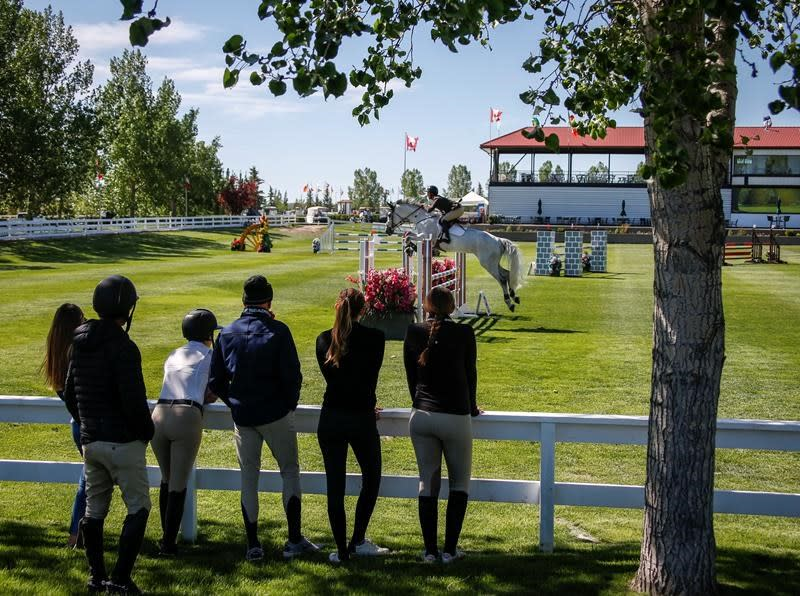Lamaze wants to focus on sport, not his health, on his return to Spruce Meadows