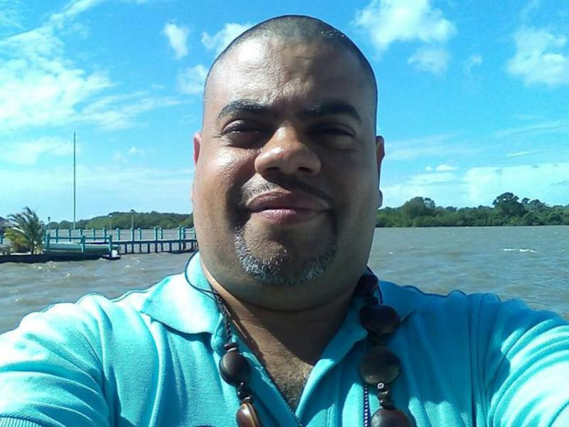 Angel Gahona, who worked for the news show Meridiano, was reporting in the town of Bluefields in the country's southern Caribbean coast (file image): Facebook/Angel Eduardo Gahona via REUTERS