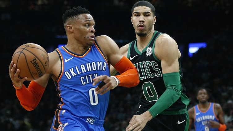 NBA title odds 2020: How Russell Westbrook trade benefits Celtics
