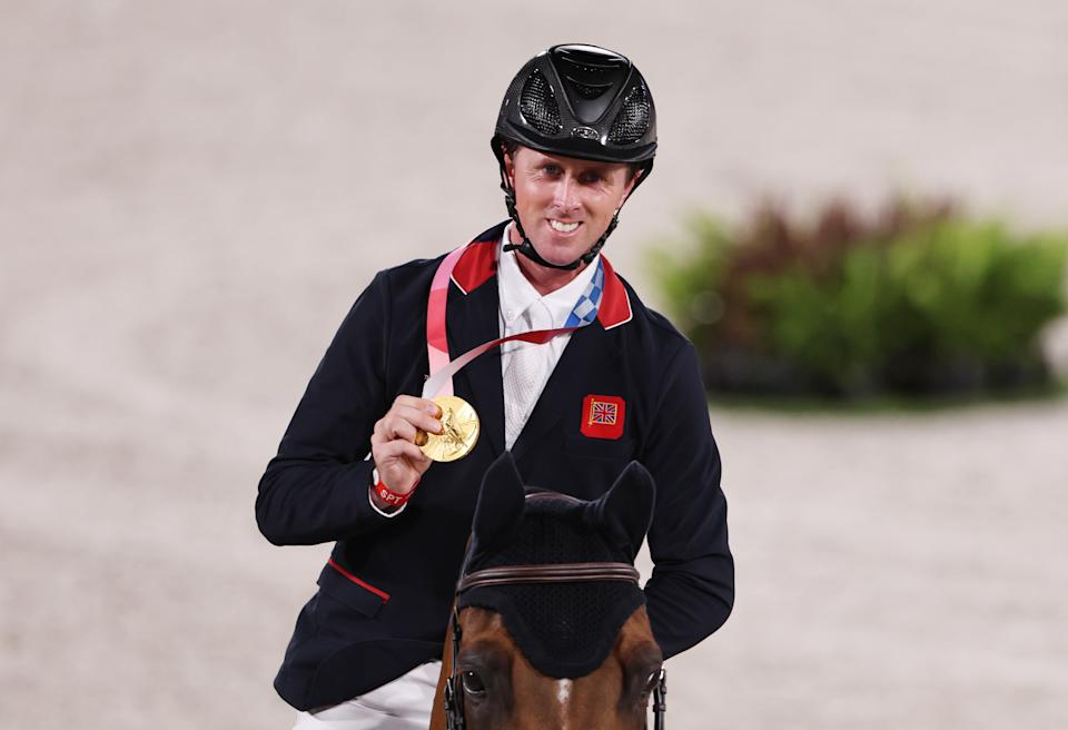 Maher, 38, delivered an imperious performance aboard partner-in-crime Explosion W to claim an unforgettable showjumping gold in Tokyo