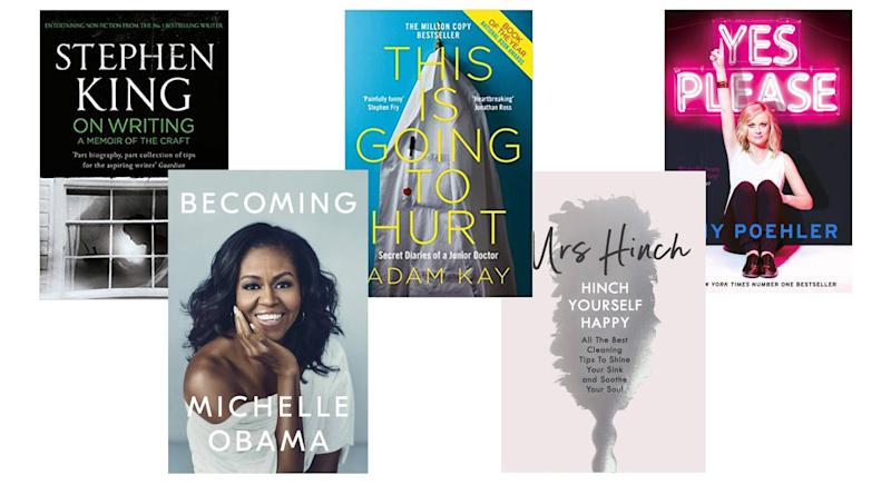 These books stormed the charts this decade. [Photo: Amazon]