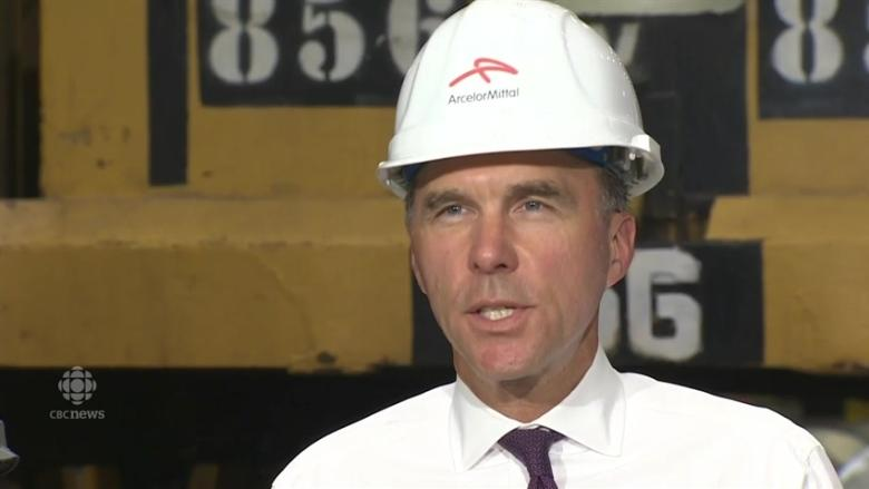 Morneau ready to use 'emergency' measure to protect steel sector