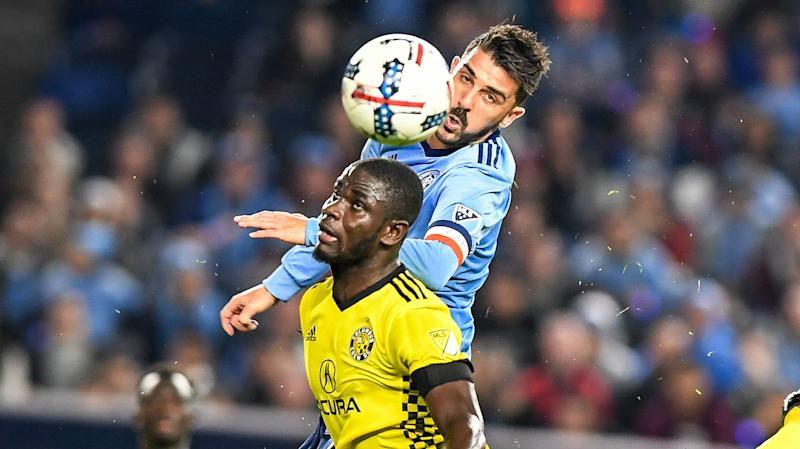 Mensah: David Villa among the best strikers in the world