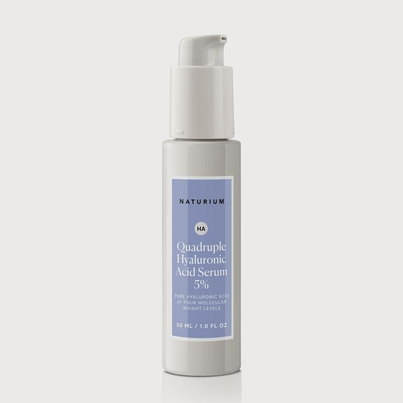 Marchbein says every skin type — including oily — need to keep skin hydration up. Naturium's Quadruple Hyaluronic Acid Serum 5% does exactly that with hyaluronic acid at four different molecular weights. In addition to deeply hydrating, it promises to plump skin into a smoother state — not to mention it throws in a little vitamin C for good measure.