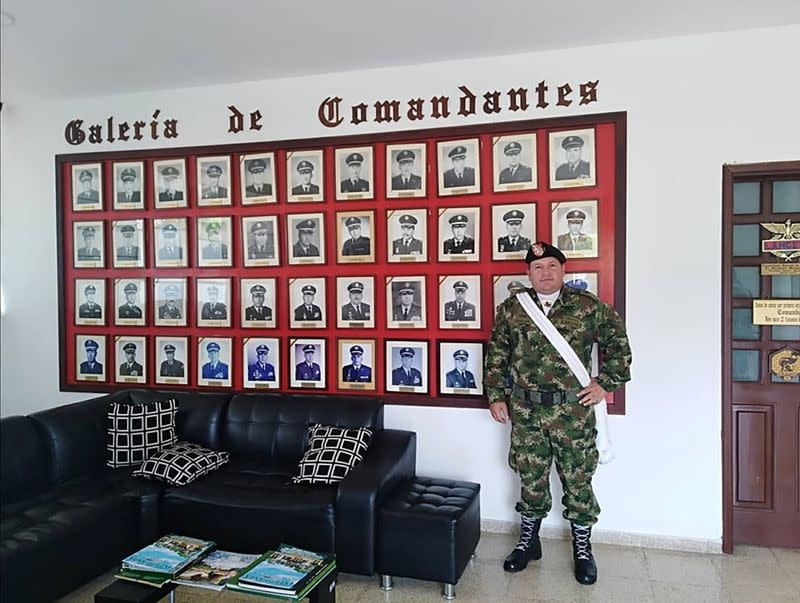 Duberney Capador Giraldo, a former Colombian soldier killed during the operation to capture those allegedly implicated in the assassination of Haitian President Jovenel Moise, is pictured in Tolemaida
