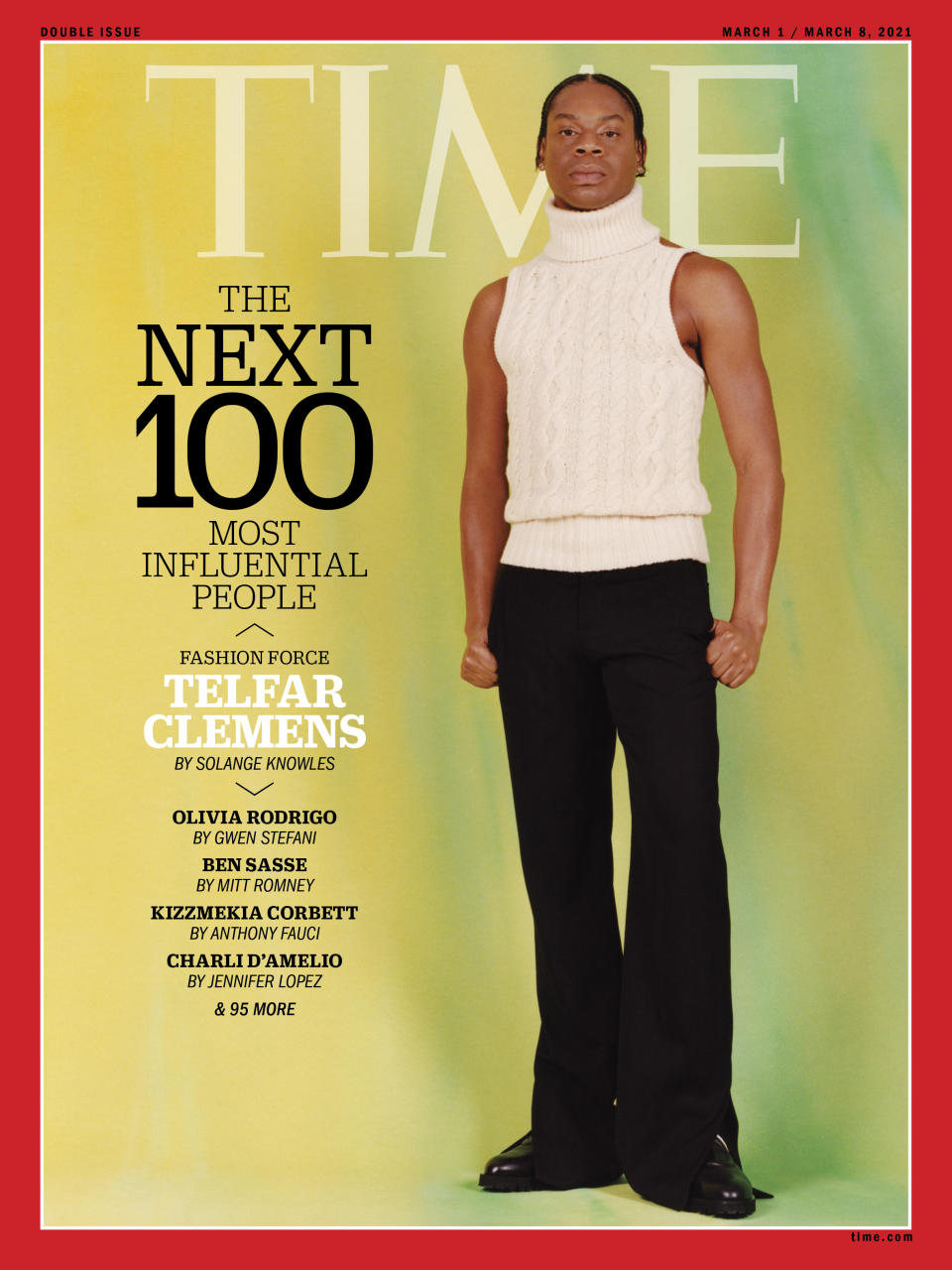 TIME100 Next cover Telfar Clemens