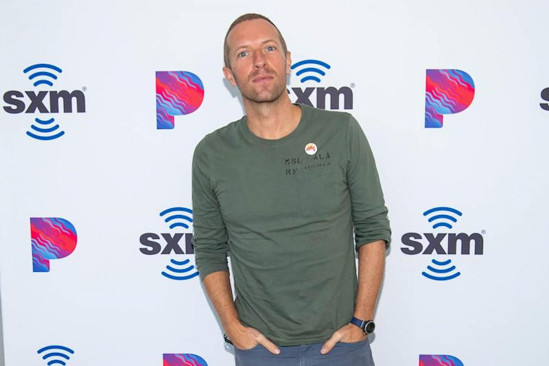 Chris Martin: Getty Images for SiriusXM