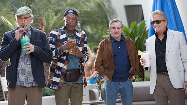 Kevin Kline, Morgan Freeman, Robert De Niro and Michael Douglas in 'Last Vegas'