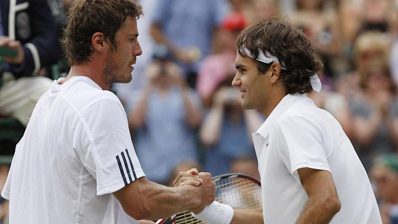 Safin and Federer had many significant battles. Pic: Getty