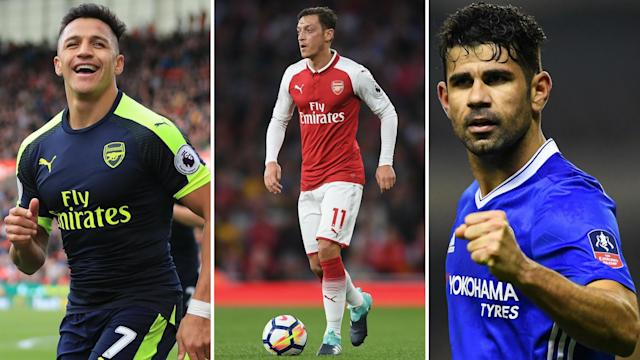Sanchez, Ozil, Costa are looking to further their careers away from London – it seems