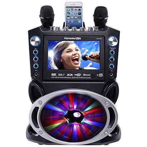 """<p><strong>Karaoke USA</strong></p><p>amazon.com</p><p><strong>$163.19</strong></p><p><a href=""""https://www.amazon.com/dp/B01FW4BW2I?tag=syn-yahoo-20&ascsubtag=%5Bartid%7C10049.g.31699444%5Bsrc%7Cyahoo-us"""" rel=""""nofollow noopener"""" target=""""_blank"""" data-ylk=""""slk:Shop Now"""" class=""""link rapid-noclick-resp"""">Shop Now</a></p><p>If there's one thing Gemini loves, it's being the center of attention. They'll be the first friend to jump onto a stage, table, bar, etc. and turn the party up a notch or two. A karaoke machine is obviously the ideal gift to encourage this type of behavior (because let's be honest, we love it). So give your Gemini a mic and their fave music and get ready to do some killer duets!</p>"""