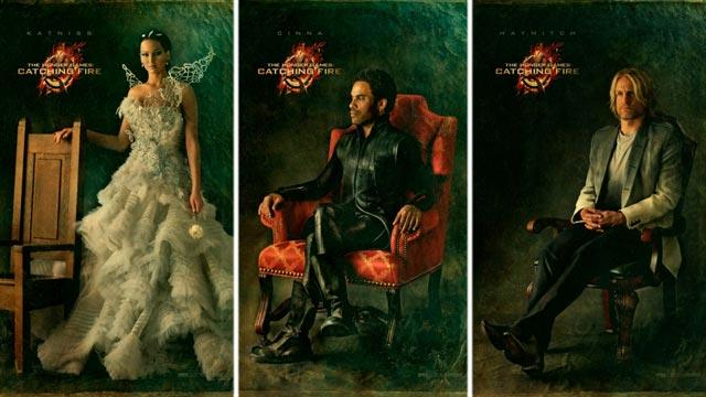 Portraits of 'The Hunger Games Catching Fire'