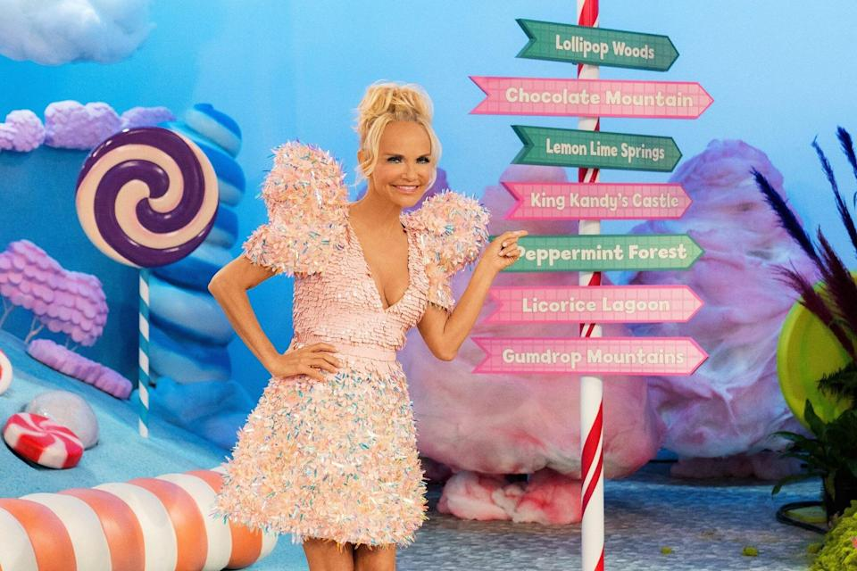 Kristin Chenoweth Brings Candy Land to Life on New Baking Competition Show — Get a First Look