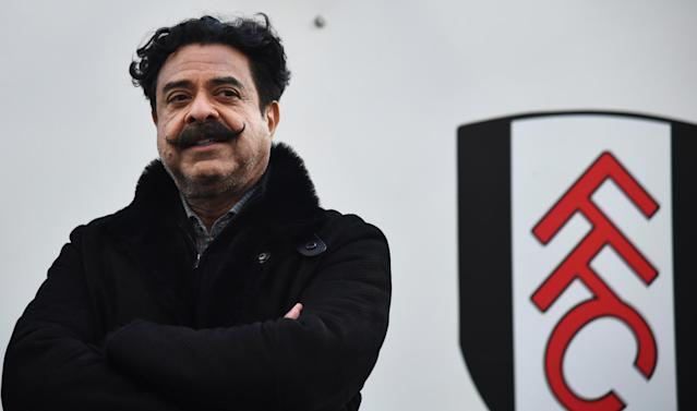 Fulham's flamboyant owner, Pakistan-born car parts tycoon Shahid Khan, also owns NFL side the Jacksonville Jaguars. (Rex)