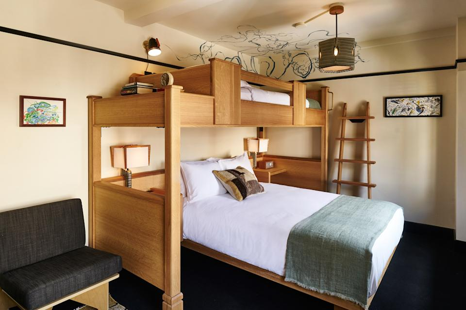 Bunk beds at the Freehand New York.