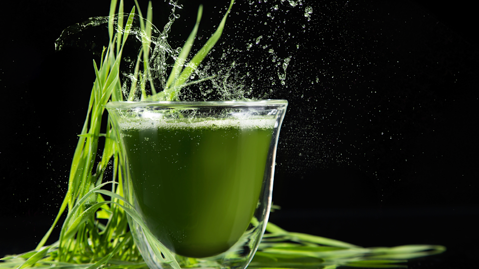 Power up with spirulina.